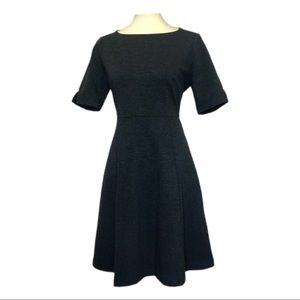 NWT The Limited Gray Knit Fit & Flare Dress Size 6
